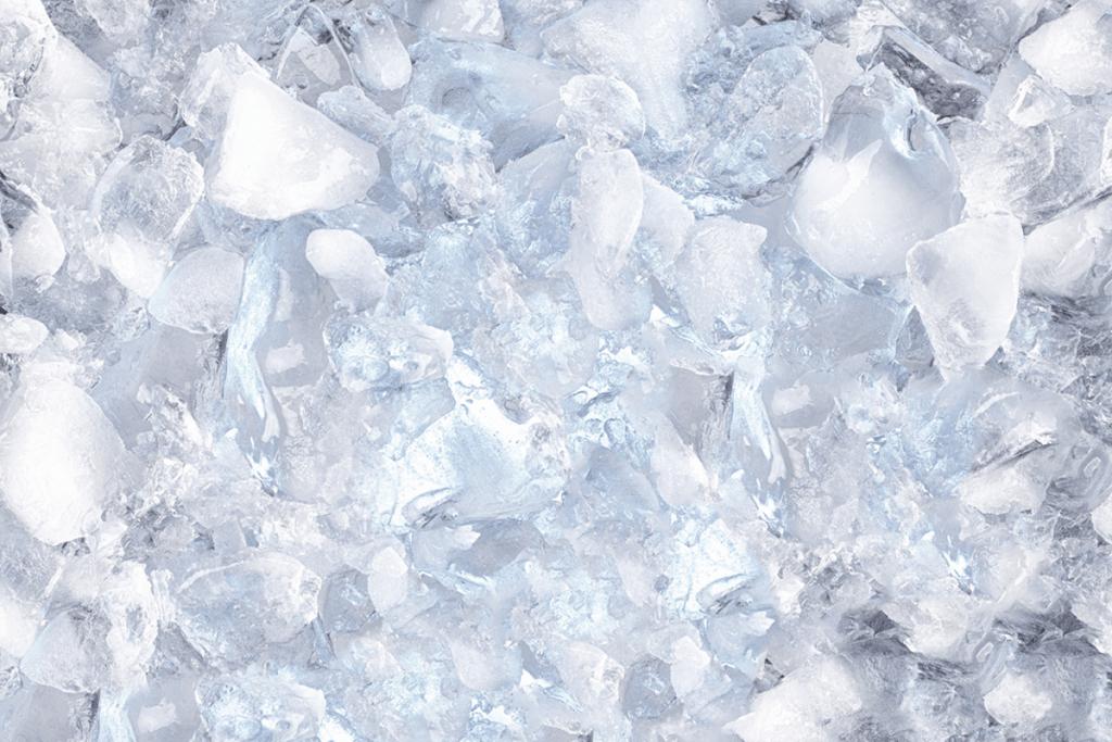 Koelbox met ijs